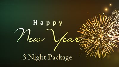 New Year's Package 2018 (3 nights)