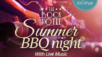 Rock Hotel Summer BBQ Nights with Live Music